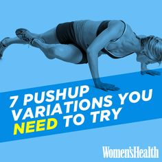7 Pushup Variations You NEED to Try