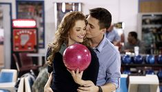 Lydia and Jackson get close on their double date with Allison and Scott.  Photo by MTV