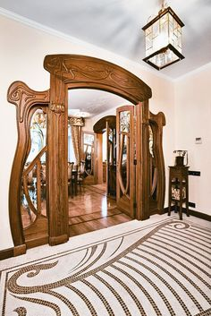 Beautiful art nouveau entrance.....