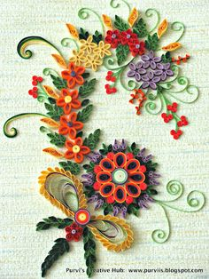 Purvi's Creative Hub: First Quilled Art Work! by: http://purviis.blogspot.com/2012/04/first-quilled-art-work.html#