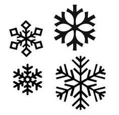 Snowflakes Free SVG download - for pattern reference [computer security warning about link? safe to open]