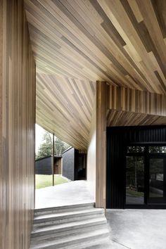 Screen House / Alain Carle Architecte | ArchDaily