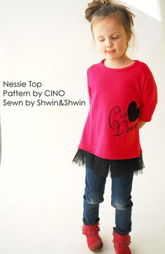 Shwin&Shwin: The Nessie Top