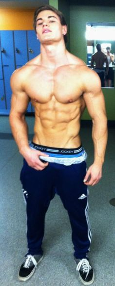 Jeff Seid Hot Men Fit Sexy Bulge Perfect Muscles Boxers