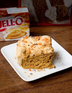 Easy Low Fat Pumpkin Sheet Cake from Keep It Sweet Desserts