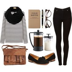 cozy morning outfit