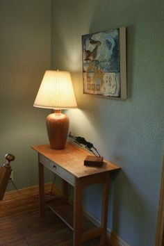 Modern Shaker Console, handcrafted occasional furniture piece.