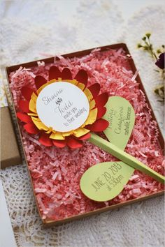 creative wedding stationery by Designs In Paper