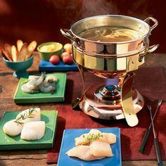 Bouillabaisse fondue recipe