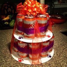 beer cakes, clemson cake