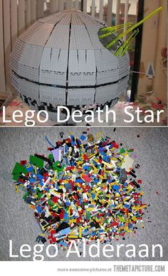 geek, death star, lego star wars, funny pictures, funni, stars, lego death, legos, starwars