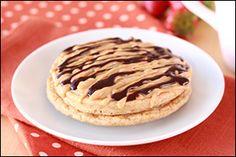 Hungry Girl's Gooey PB Chocolate Pancakes