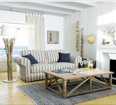 lovely light beach house, beach decor