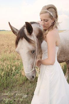 bride horse portrait wedding shalene dawn photography