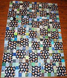 11 Patch Scrap Quilt scrap quilt, quilt idea, quilt pattern