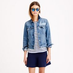 J.Crew - Vintage denim jacket in bodrum wash
