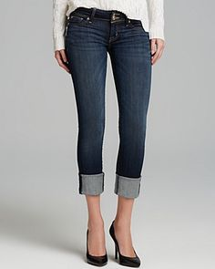 Hudson Jeans - Ginny Straight Crop in Stella | Bloomingdale's