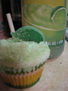 Margarita Cupcakes With Tequila Lime Frosting for Cinco de Mayo
