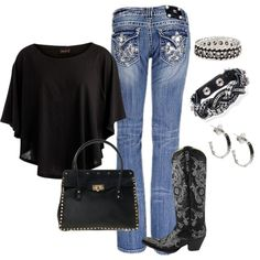 """""""Perfect for a country concert"""" by honeybee20 on Polyvore"""