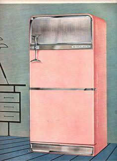 vintage r frig rateur on pinterest. Black Bedroom Furniture Sets. Home Design Ideas