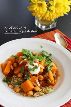 Moroccan Stew || vegetarian recipe by http://DiepLicious.com