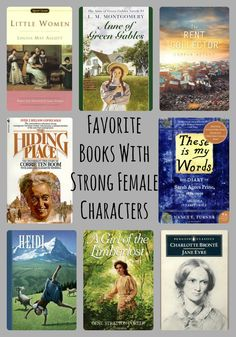 Favorite Books With Strong Female Characters - Teach Beside Me