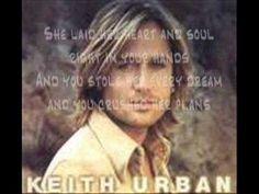 Keith Urban-Stupid Boy