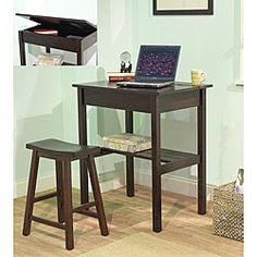 lil desk for the living room?