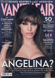 beautiful magazine covers, fair angelina, vaniti, angelina style, eye makeup, angelina jolie, beauti, hair, eyes