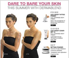 Beauty on pinterest mac makeup foundation and cover tattoos for Dermablend tattoo cover up