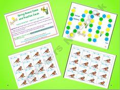Mental Math Addition Cards