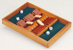 Double Sided 9 Number Shut the Box #familyboardgames