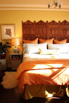 Warm, Spice Market-Hued Space   Apartment Therapy