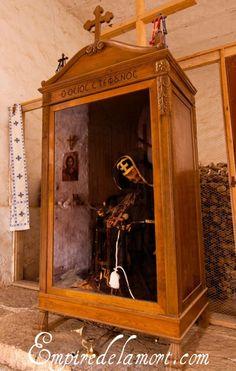Mummy of St. Stephanos, St. Catherine's Monastery, Sinai.