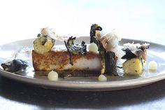 Halibut at Ink, Michael Voltaggio, West  Hollywood