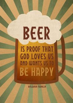 Beer = Happiness.  $12 Gayana on @Etsy!