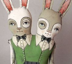 some sort of conjoined art doll, or cloth doll would be awsome! i bet a pattern for any normal doll could be doubled and changed to be a conjoined twin!