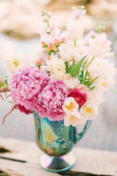 Monet wedding inspiration shoot | Mint Photography | see more on: http://burnettsboards.com/2014/08/monets-water-lilies-wedding-inspiration-shoot/