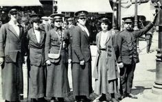 This photo was taken in Coventry in 1915... guess the profession of these ladies.