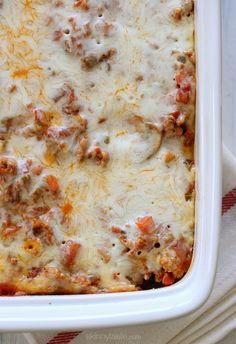 Easy Macaroni Casserole | Skinnytaste