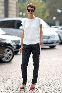 Street Style: Milan Fashion Week Spring 2014