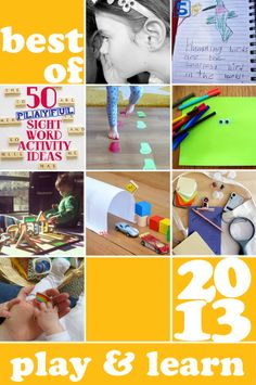 Best of 2013: The most popular ideas for playing & learning at Childhood 101 this year.