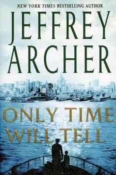 Only time will tell by Jeffrey Archer.  Click the cover image to check out or request the historical fiction kindle.