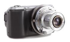 Sony NEX-C3 with Vintage Leica Lens --> vintage camera, polaroid, lomography camera (lomography diana), fujifilm,