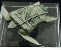 turtle money origami