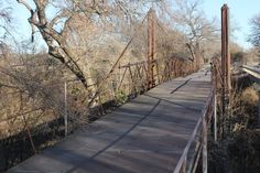 This cool Suspension Bridge is actually miles out of Dublin, but it is still in Erath County Texas in Bluff Dale Texas History. Read More...