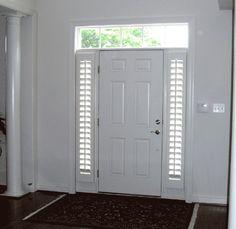 sidelight shutters