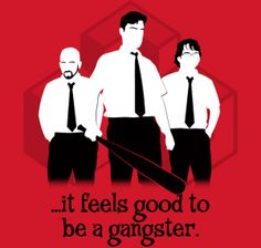 Office Gangsters – TeeFury « Daily T-Shirts
