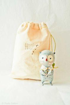 Owl Figurine Doll animal, ABC animals by Paola Zakimi via @Ez Pudewa