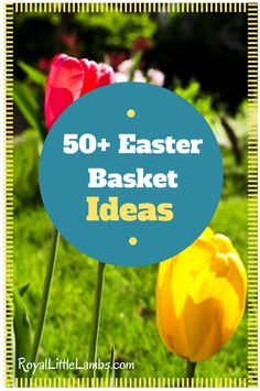 50 Easter Basket Ideas Other Than Candy - themes too!